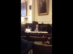 """Rep. Shawn Jasper (R), a member of New Hampshire House Speaker William O'Brien's leadership team, had to be woken up by a fellow Representative during a February 9th hearing on """"Right-to-work."""""""