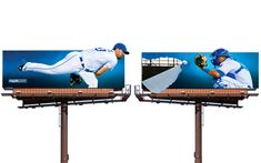 This year, outfielder Alex Gordon's sliding across the billboard, collecting everything in his path. If only they were this… » 2/04/14 8:36pm 2/04/14 8:36pm