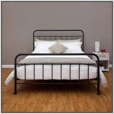 black metal bed frame - Google Search