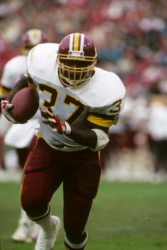 Running back Gerald Riggs of the Washington Redskins
