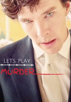 """Let's Play Murder"" - Sherlock Holmes, from the ""Sign of Three"" episode. ""VATICAN CAMEOS!!"""