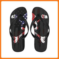 3f2d7a9ad Love Nature Skull Flag Custom Slim Tropical Sexy Sandals Many Colors Any  Size Flip Flops for Men Women ( Partner Link)