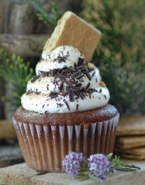 Vegan S'mores Cupcake