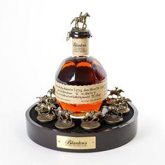 "Blanton's ""Bottle & Stopper"" Display (Display Only) - Bourbon Outfitter Whiskey Brands, Cigars And Whiskey, Scotch Whiskey, Whiskey Bottle, Whiskey Decanter, Whiskey Glasses, Alcohol Bottles, Liquor Bottles, Cocktails"