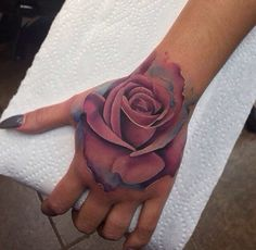 Uploaded by Z. Find images and videos about rose, tattoo and nails on We Heart It - the app to get lost in what you love. Hand Tattoos, Rose Hand Tattoo, Sexy Tattoos, Body Art Tattoos, Sleeve Tattoos, Tattoos For Women, Cool Tattoos, Pretty Tattoos, Beautiful Tattoos