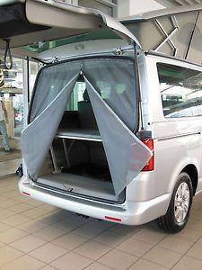 MOSQUITO-INSECT-MIDGE-NET-CURTAIN-for-Volkswagen-T5-Rear-Door-2003-VC45VW0102