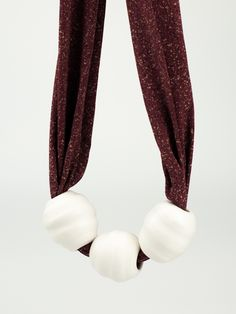 Marj Taylor - handthrown porcelain jewellery