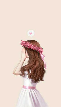 37 ideas for wall paper art girl Lovely Girl Image, Girls Image, Anime Art Girl, Anime Girls, Cute Girl Wallpaper, Couple Wallpaper, Wallpaper Desktop, Disney Wallpaper, Wallpaper Quotes