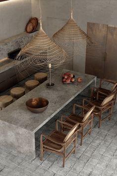 Home Interior Design, Interior Architecture, Interior And Exterior, Natural Interior, Industrial Interiors, Küchen Design, Wabi Sabi, Kitchen Decor, Sweet Home