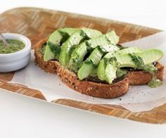Who doesn't love avocado toast? This one gets a makeover with savoury umami Marmite and an addictive fresh herb sauce