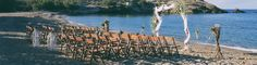 Romantic Beach Wedding in Folegnadros