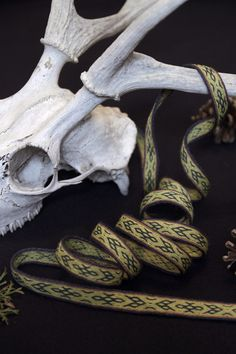 Birka inspired braid in natural dyed wool. The original was brocaded in silk.