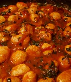 Italian-style sausage casserole Sausage Casserole, Italian Style, Chana Masala, Cooking, Ethnic Recipes, Food, Kitchen, Essen, Meals