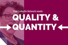 LinkedIn is a network: networking is a verb, a doing word. This means DOING MORE than simply inviting and accepting. Even a stamp collector looks after and nurtures their stamps: Why pay less attention to human beings?