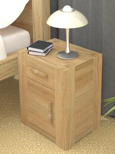 we love this solid one door one drawer lamp table from our atlas oak range atlas chunky oak hidden home office