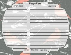"""Downloadable 4 X 6"""" Winter Recipe Card Food Names, Winter Food, Recipe Cards, Cheap Web Hosting, Ecommerce Hosting, Holiday, Recipes, Vacations, Recipies"""