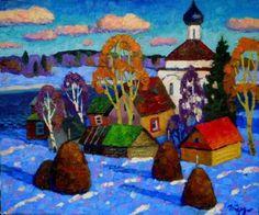 18 работ российского художника Игоря Бердышева