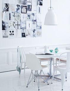 New White Furniture Interior Eames Ideas Home Living, Living Spaces, Interior Architecture, Interior And Exterior, Estilo Interior, My Ideal Home, Piece A Vivre, Wood Interiors, White Rooms
