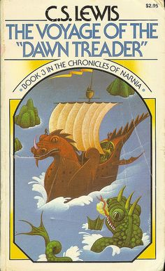 The Voyage of the Dawn Treader - Book 3 in The Chronicles of Narnia - C.S.Lewis - cover by Roger Hane by Cadwalader Ringgold, via Flickr