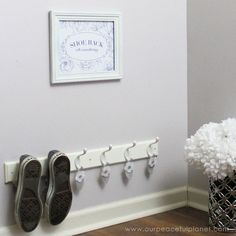 Quick Entryway Shoe Rack With Aromatherapy