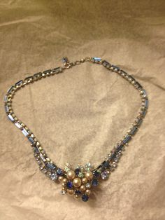 An early 20th century Henkel & Grosse necklace.  One of a kind and it's mine :) (procured @estatejewelrybygr)