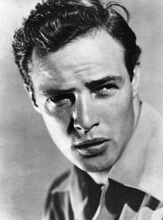 vintage everyday: Beautiful Black & White Portraits of young Marlon Brando