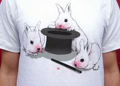 """""""Don't Trust In Cute Bunnies"""" - Threadless.com - Best t-shirts in the world"""