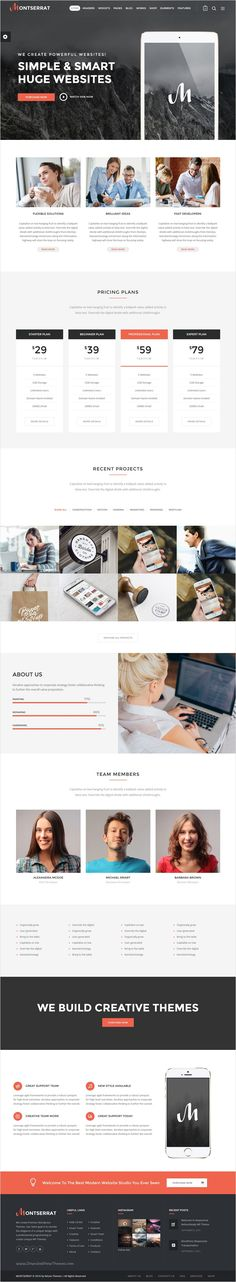 Montserrat is clean and modern 12 in 1 #WordPress theme for #webmaster multipurpose #website with drag and drop page builder download now➩ https://themeforest.net/item/montserrat-multipurpose-modern-wordpress-theme/18216156?ref=Datasata