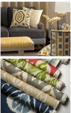 ikat for the trailer. a must.