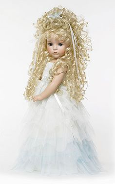 Porcelain DOLL Collectibles, Collectible Vinyl Dolls, The Doll Maker Dolls, Available from just-imagine-dolls.com!  (by Linda Rick)