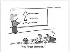 Image result for geometry funny math meme