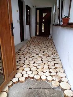 14 Interior Design Ideas Using Wood - Local Home US - Home Improvement Floor Design, House Design, Cordwood Homes, Diy Inspiration, Home Projects, Home Remodeling, Diy Furniture, Timber Furniture, Diy Home Decor