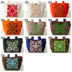 Pouch, Wallet, Hawaiian, Purses And Bags, Decorative Boxes, Quilts, Ideas, Bags, Sachets