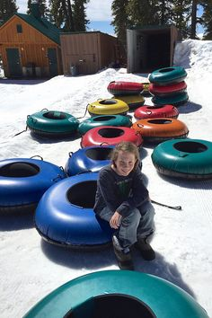 Tubing Hill at Keystone Resort #travel