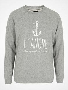 Why don't you go and get a bit more of a sailor? Start out with this sweater from A Question Of. Available through Coggles.