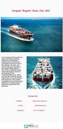 Import Export Data For 2017 | Piktochart Infographic Editor