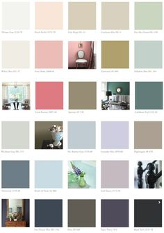Benjamin Moore 2014 Color Trends- choose a few of these for feature wall in studio spaces. The other walls would be neutral. Colores Benjamin Moore, Benjamin Moore Paint, Benjamin Moore Colors, Interior Paint Colors For Living Room, Paint Colors For Home, House Colors, Interior Colors, Paint Colours, Trending Paint Colors