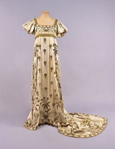 Empire-style fancy dress, late 19th-early 20th centuryFrom...