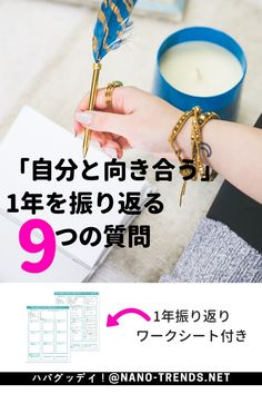 1年を振り返るワークシート Tokyo Tower, Be Your Own Boss, Time Management, Reflection, Knowledge, Notebook, Notes, Thoughts, Motivation