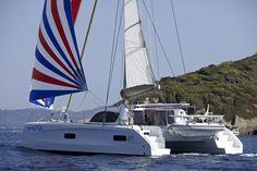 Die Outremer 45 ist der ideale Blauwasserkatamaran für ein komfortables Leben. Mehr bei http://cat-sale.de
