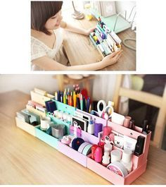 Cute and inexpensive makeup storage ideas | best stuff