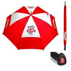 Wisconsin Badgers NCAA 62 inch Double Canopy Umbrella