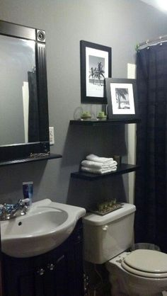 this is the exact setup in our master bath