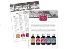 Kinder's BBQ Sauce Sell Sheet