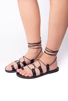 Altamira black - Leather sandals #SummerShoes #WomenSandals #AncientGreekSandal #Sandals2019 #GirlSandals #LeatherSandals #SummerSandals #GladiatorSandals #HandmadeSandals #GreekSandals Ancient Greek Sandals, Designer Sandals, Black Leather Sandals, Summer Shoes, Gladiator Sandals, Trending Outfits, Unique Jewelry, Fashion, Moda