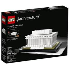 LEGO Architecture 21022 Lincoln Memorial Model Kit -- Details can be found by clicking on the image. (This is an affiliate link) #GrownUpToys