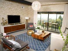 Eclectic   Living Rooms   Cortney and Robert Novogratz : Designer Portfolio : HGTV - Home & Garden Television