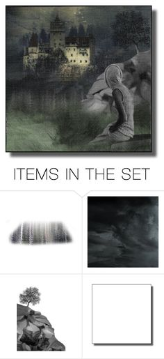 """""""Across The Lake"""" by ritadolce ❤ liked on Polyvore featuring art"""