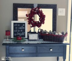 You're invited to visit a beautiful Christmas home tour! Christmas Time Is Here, Christmas Love, All Things Christmas, Beautiful Christmas, Winter Christmas, Christmas Crafts, Christmas Ornaments, Christmas Island, Christmas Ideas
