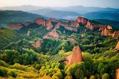 Las Médulas - El Bierzo region (Leon).